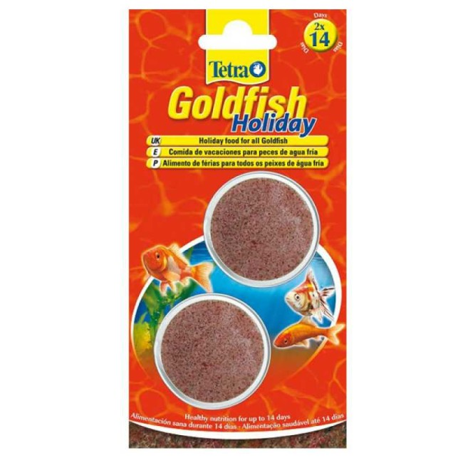 Tetra Goldfish Holiday.