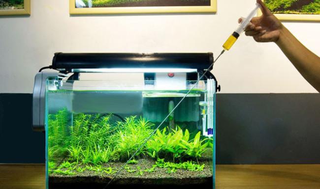Аквариумные удобрения для растений.