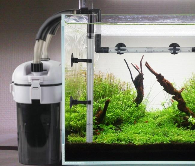 Внешний фильтр для аквариума.